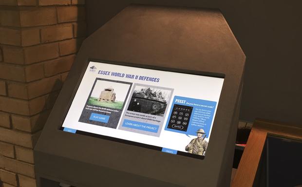 Essex County Council, World War 2 Touch-screen