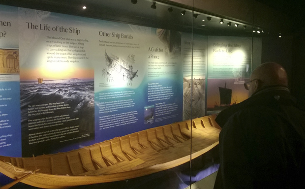 National Trust Sutton Hoo Ghost Ship Ugly Studios