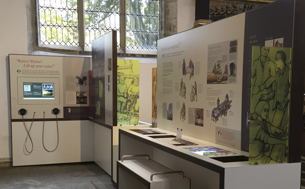 Ugly Studios St Nicholas' Chapel Churches Conservation Trust Exhibition
