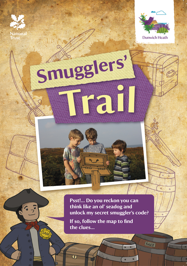 National Trust Dunwich Heath Smugglers Trail