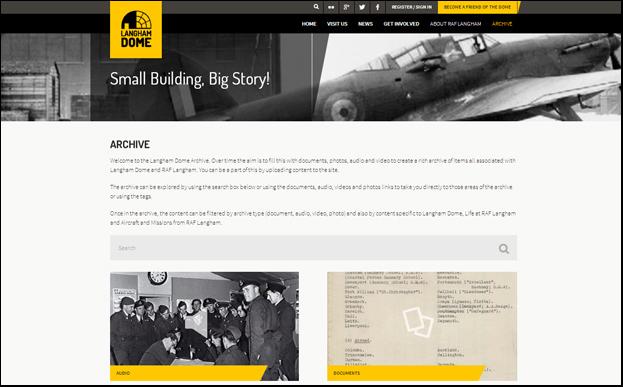 Online Archive, www.langhamdome.org