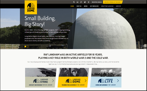 Home Page, www.langhamdome.org