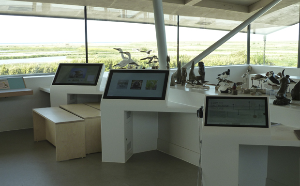 Ugly Studios Cley Marshes Norfolk Wildlife Trust Digital Interactive Audiovisual