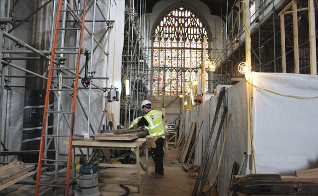 St Nicholas' Chapel Kings Lynn Churches Conservation Trust Ugly Studios Exhibition Design