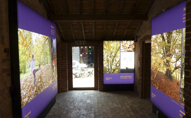 Sheringham Park Lightbox Exhibition Design Ugly Studios